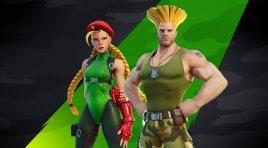 Cammy y Guile los peleadores de Street Fighter estarán en Fortnite
