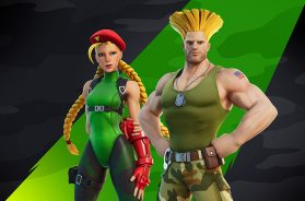 Cammy y Guile Fortnite