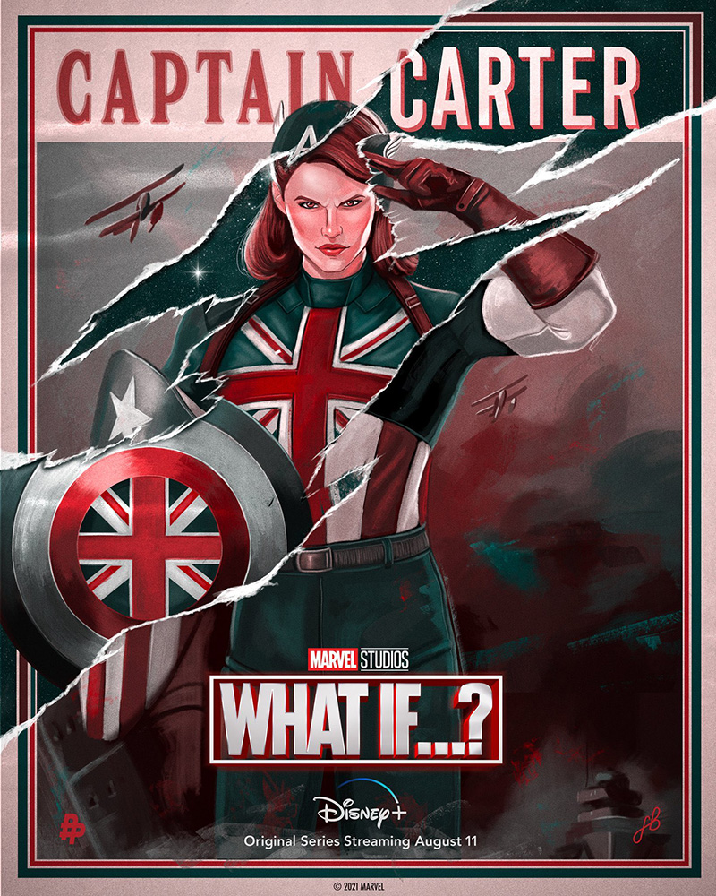 Captain Carter poster What if