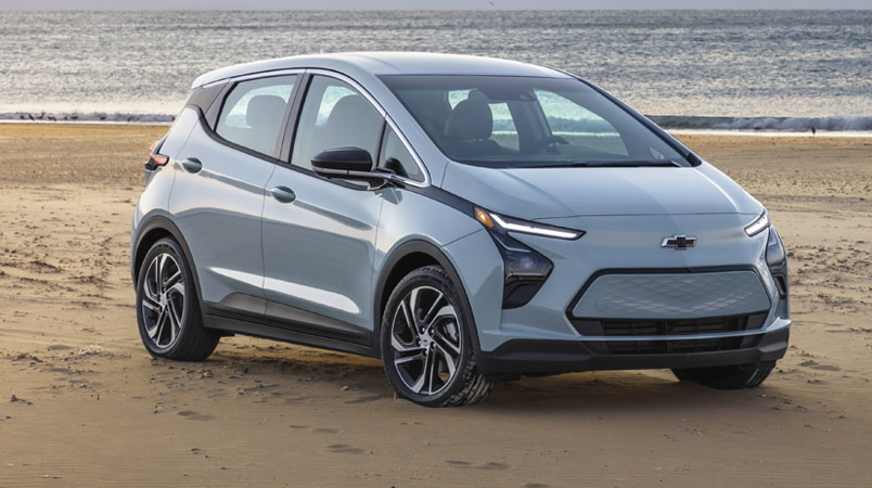 Chevrolet Bolt EUV 2022 ofrece hasta 397 km a este precio