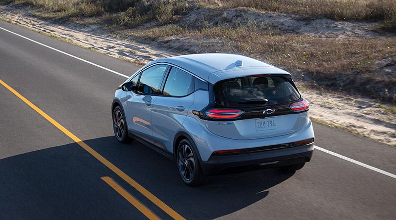 Chevrolet Bolt EUV 2022 autonomia mexico