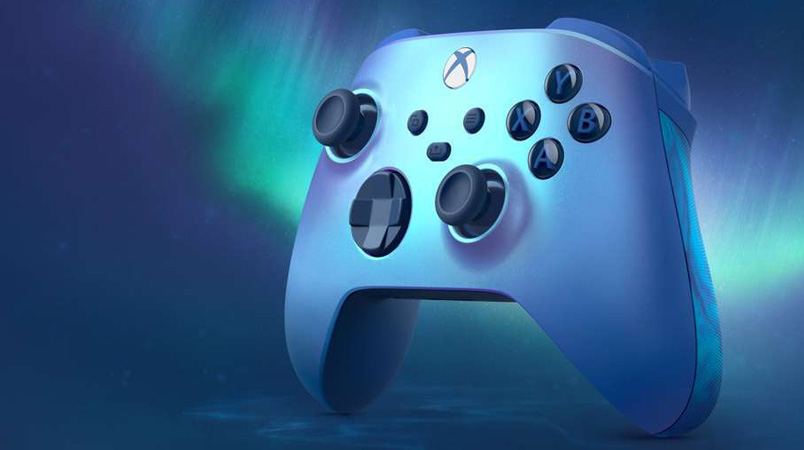 Control Xbox Aqua Shift Special Edition