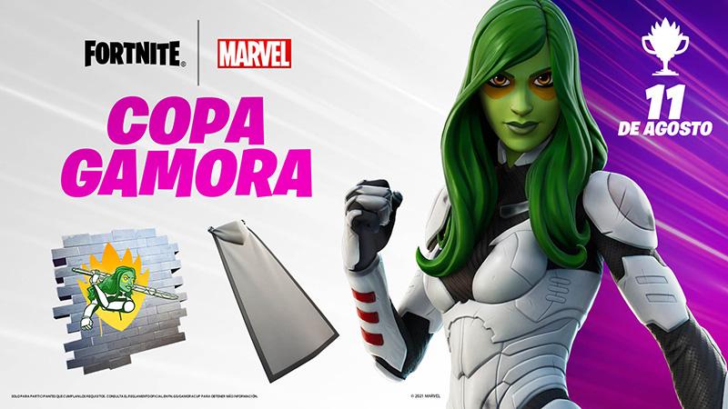 Copa Gamora en Fortnite