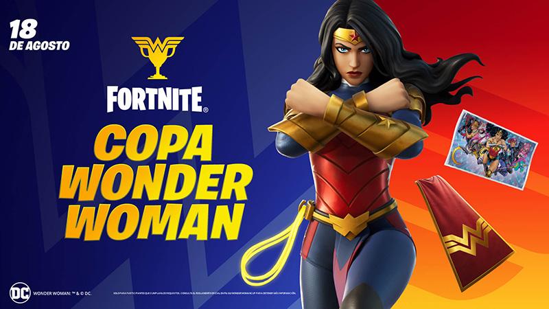Copa Wonder Woman Fortnite