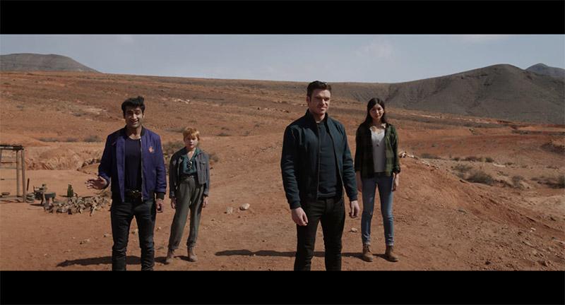 Desierto Eternals segundo trailer
