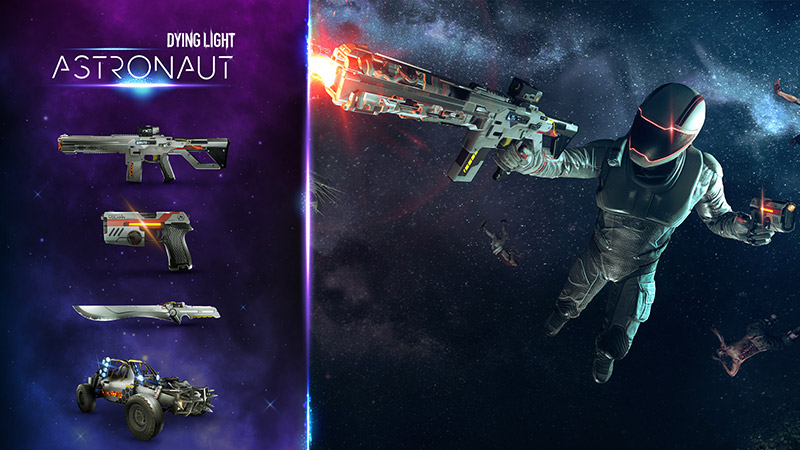 Dying Light Low Gravity Astronaut