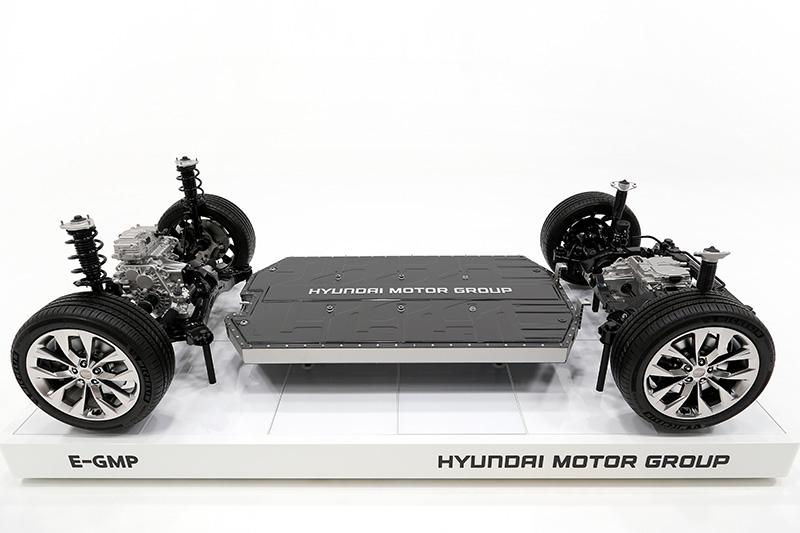 E-GMP Hyundai LG celdas para baterias