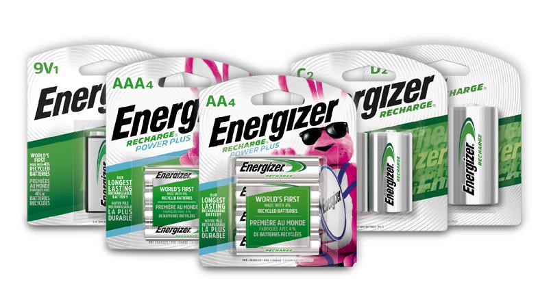 Energizer es pionero en las baterías hechas con pilas recicladas