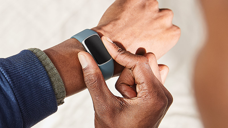 Fitbit Charge 5 pantalla