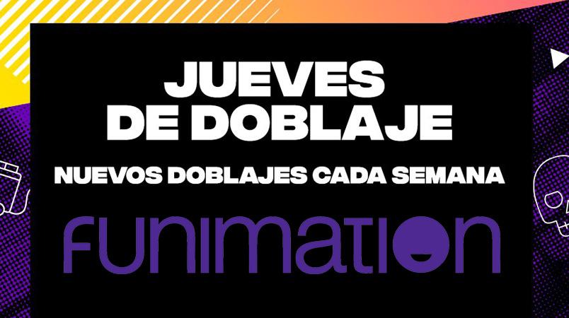 Llegan los Jueves de Doblaje al servicio de streaming Funimation