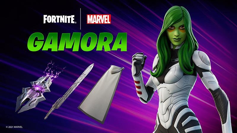 De esta forma podrás tener la nueva skin de Gamora en Fortnite