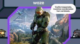 El Jefe Maestro es tu nuevo guía en Waze, activa la experiencia Halo