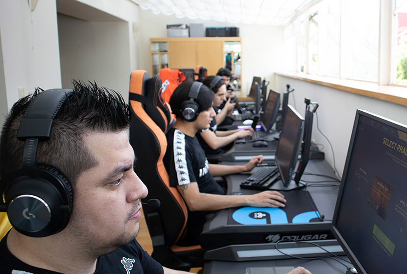 INFINITY Gaming House equipo CDMX