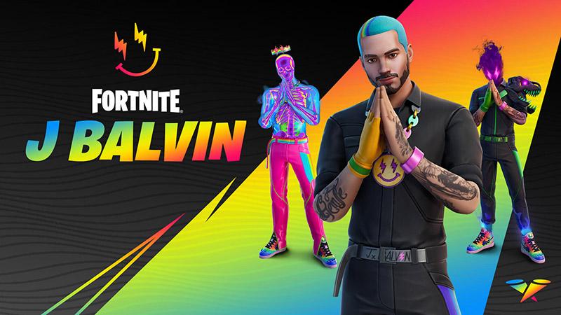 De esta forma consigue a J Balvin de la Serie de Ídolos de Fortnite