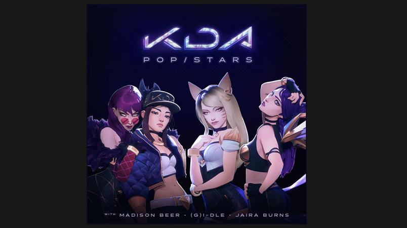 K:DA POP:STARS disco oro