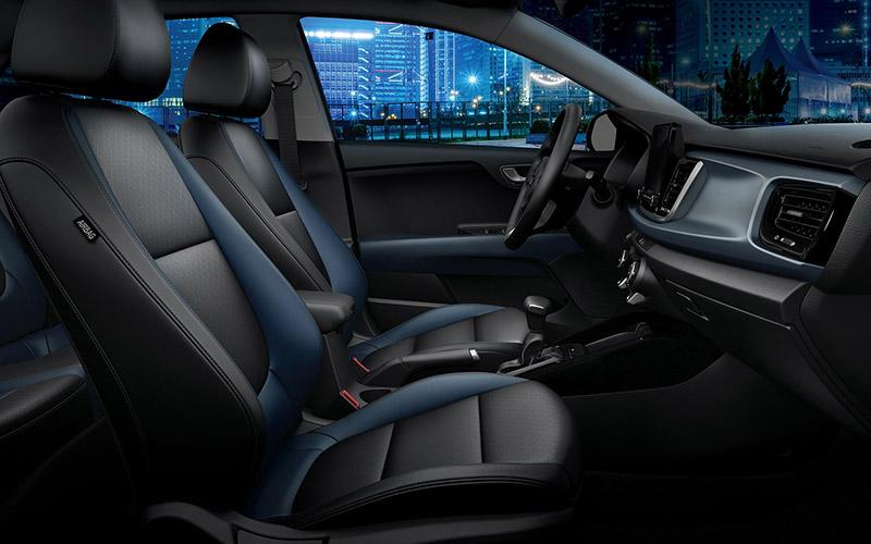 KIA Rio Hatchback 2021 5 razones interior