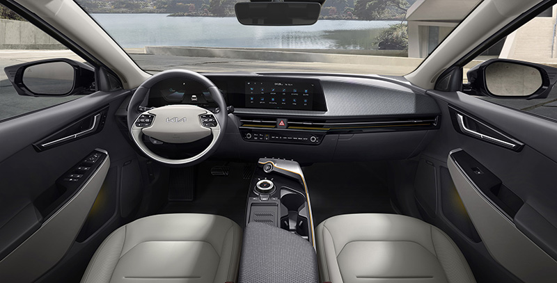 Kia EV6 Huella de Carbono interior