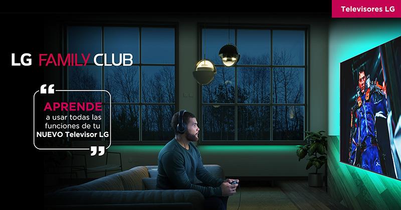 LG Family Club la plataforma para sacarle el máximo a tus productos LG