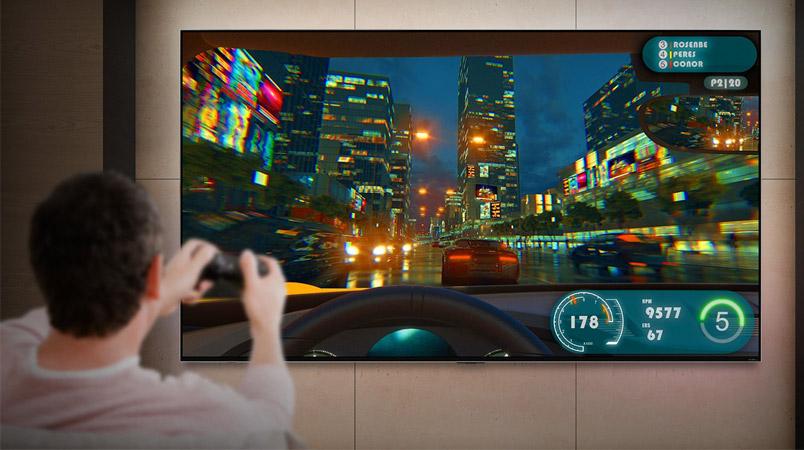 Las tecnologías de LG QNED MiniLED para tus juegos y películas