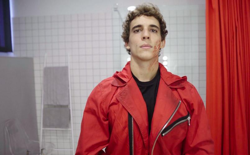 600 trajes rojos y otros datos de la exitosa serie La casa de papel