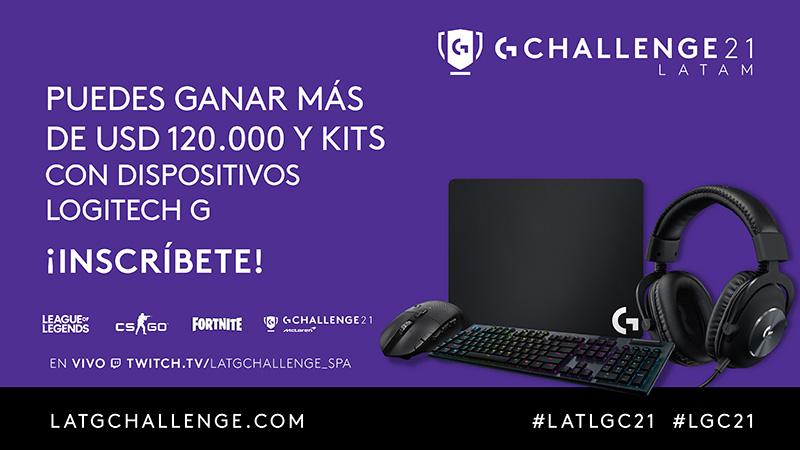 Logitech G Challenge 2021 premios