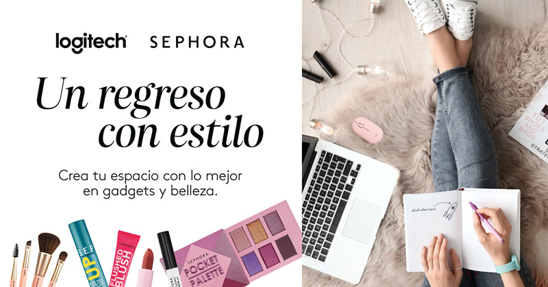 Logitech x Sephora Mexico