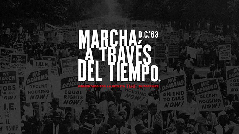 MLK Marcha a Traves del Tiempo Fortnite