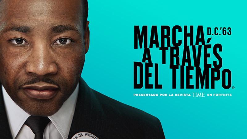 No te pierdas de la experiencia Martin Luther King Jr. en Fortnite