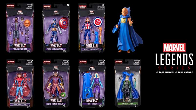 Hasbro presenta los nuevos productos Marvel Legends de What If…?