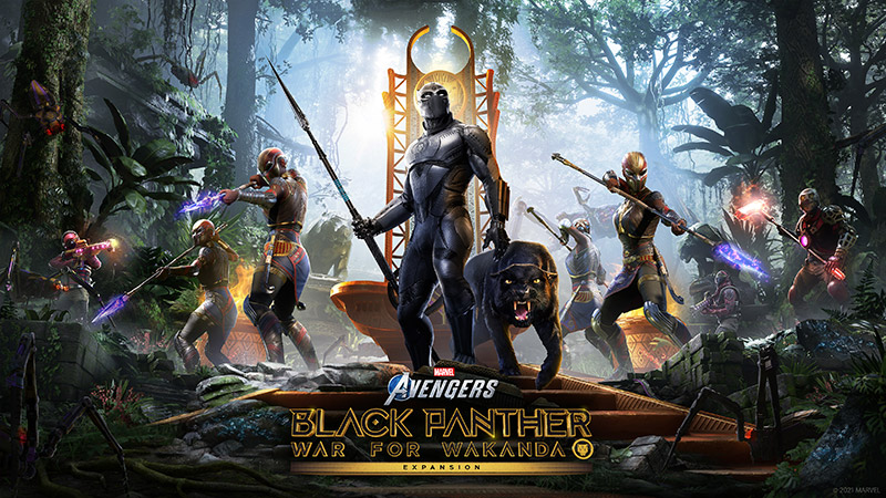 Marvels Avengers Guerra por Wakanda