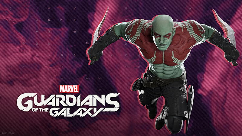 Marvels Guardians of the Galaxy Drax
