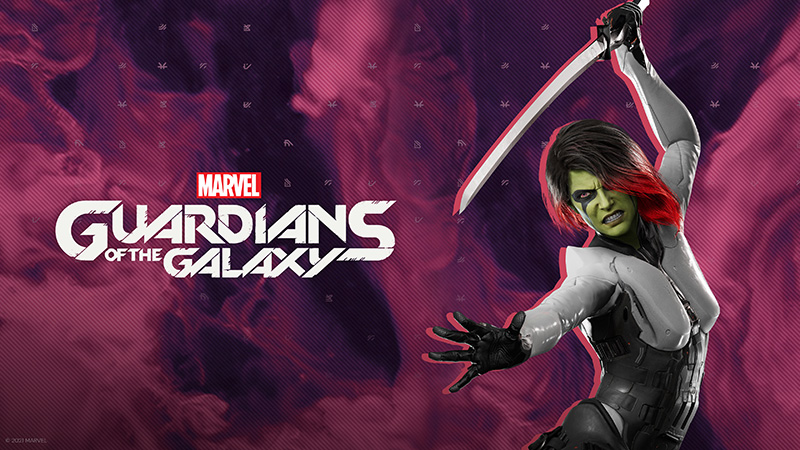 Marvels Guardians of the Galaxy Gamora