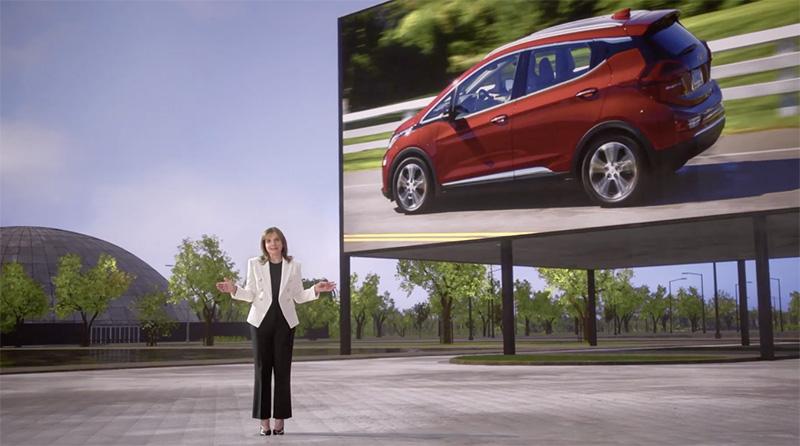 Mary Barra, CEO de GM, abrirá todas las actividades del CES 2022