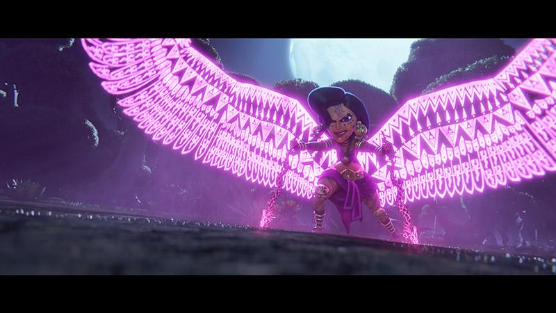 Maya y los Tres elenco voces