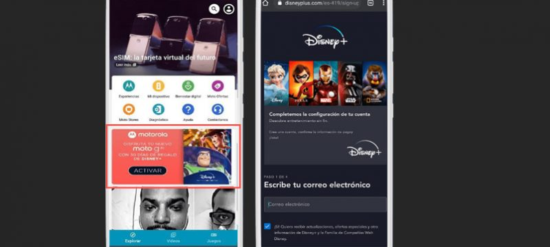 Motorola Disney Plus
