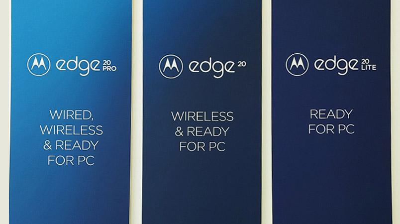 Motorola edge 20 Ready for