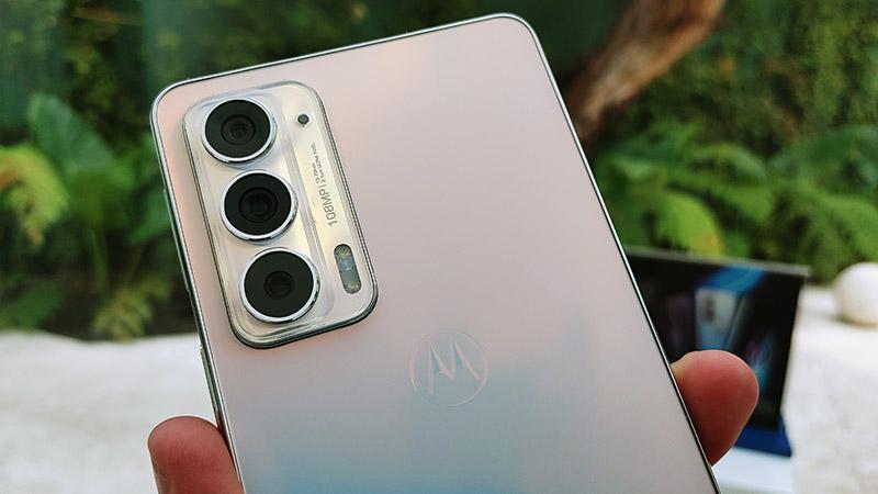 Motorola edge 20 camaras