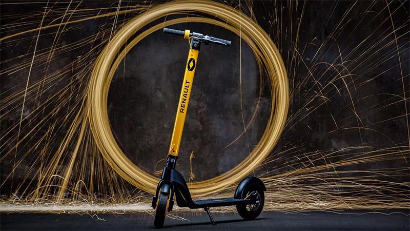 Nuevo Scooter electrico de Renault caracteristicas