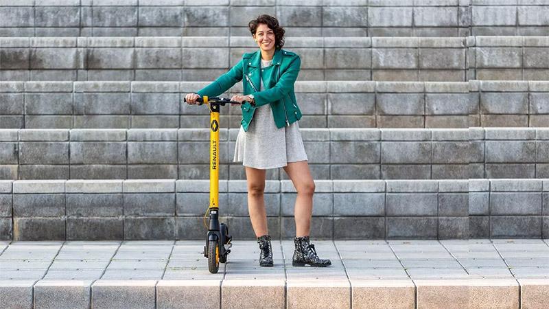 Nuevo Scooter electrico de Renault precio