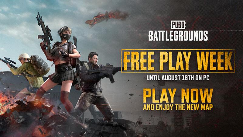 PUBG: BATTLEGROUNDS es gratis hasta el 16 de agosto de 2021