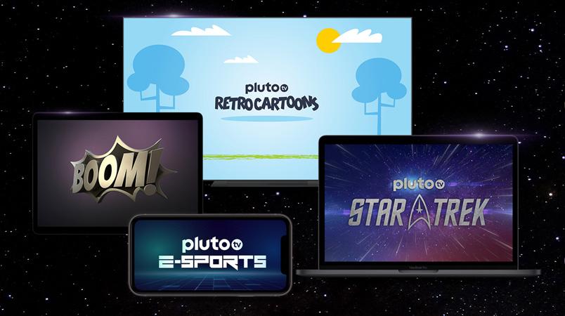 Pluto TV prepara canales de Star Trek, Retro Cartoonsy de eSports