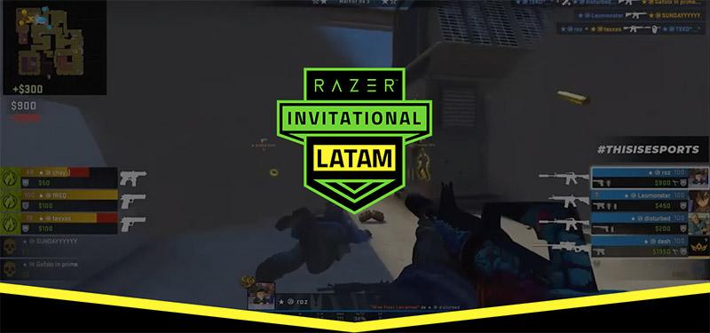 Razer Invitational LATAM CSGO mujeres