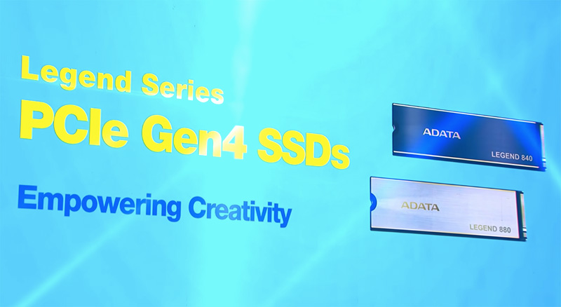 SSD PCIe Gen4 ADATA LEGEND