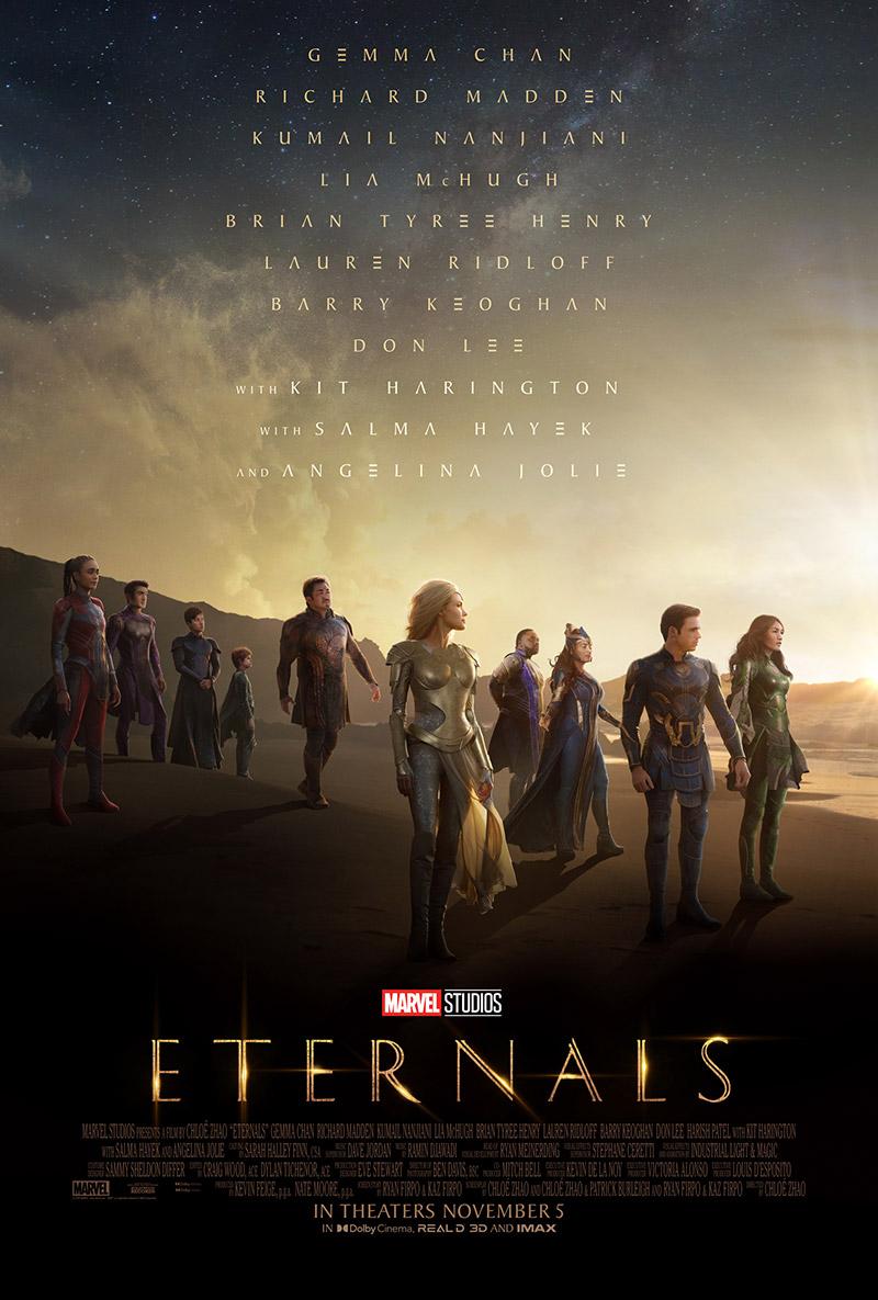 Segundo poster Eternals segundo trailer