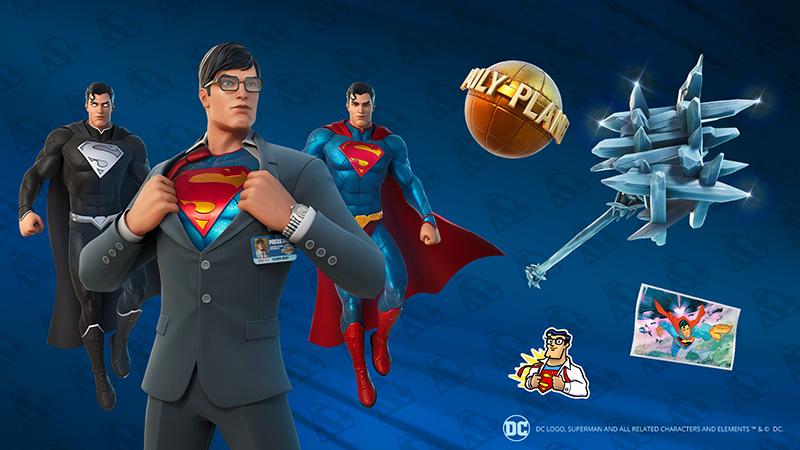 Superman Fortnite cometicos