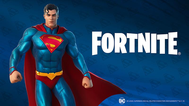 Superman Fortnite desbloquear