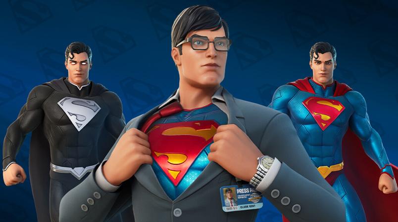 Superman ya está en Fortnite y de esta forma podrás tenerlo