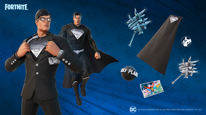 Superman Shadow Fortnite