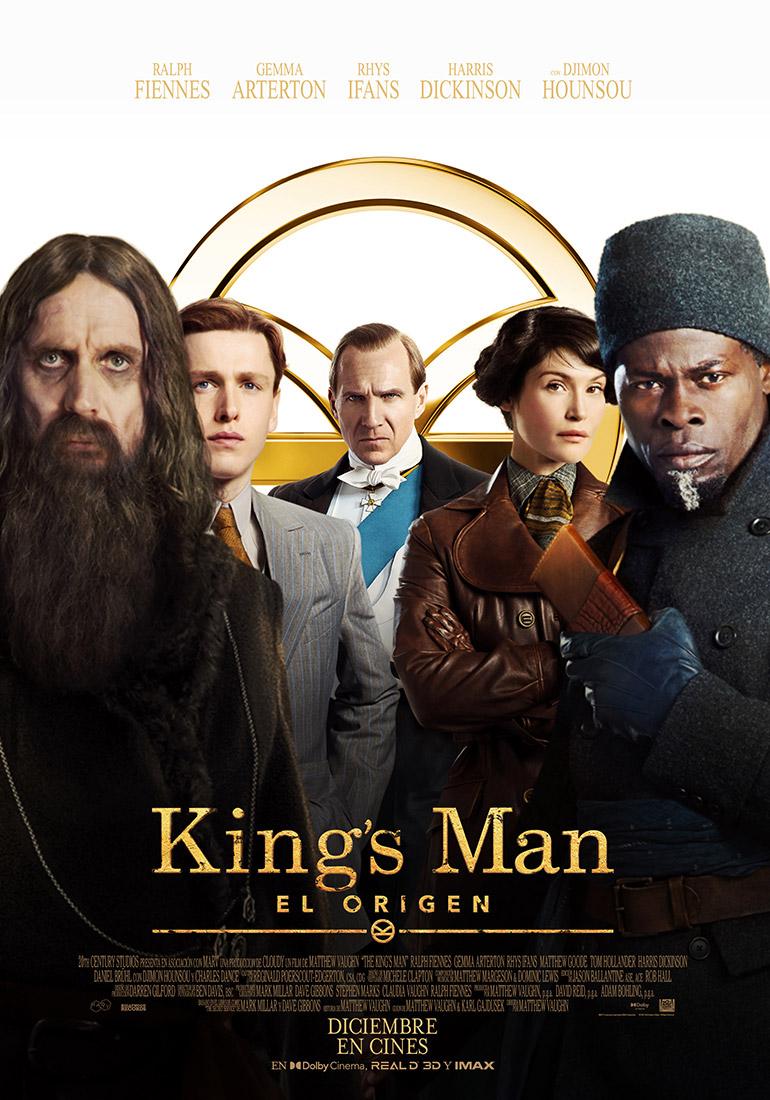 THE KINGS MAN POSTER agosto 2021