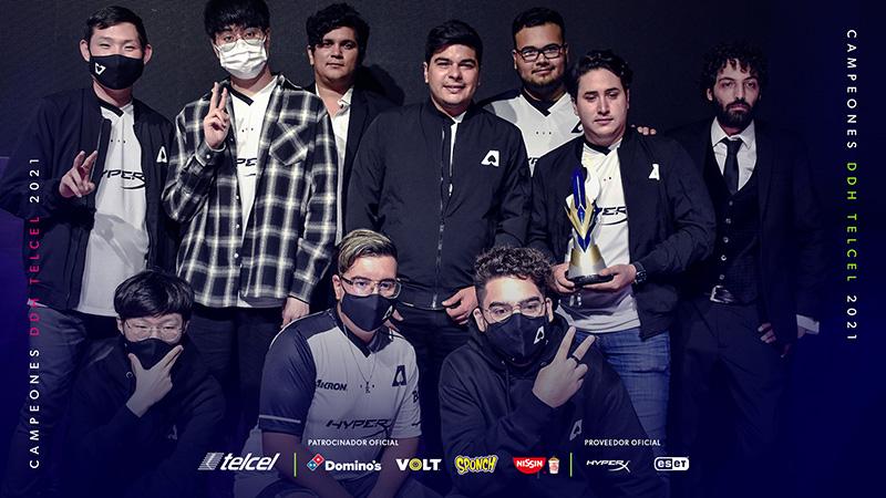 Team Aze nuevo campeón de la División de Honor Telcel Clausura 2021